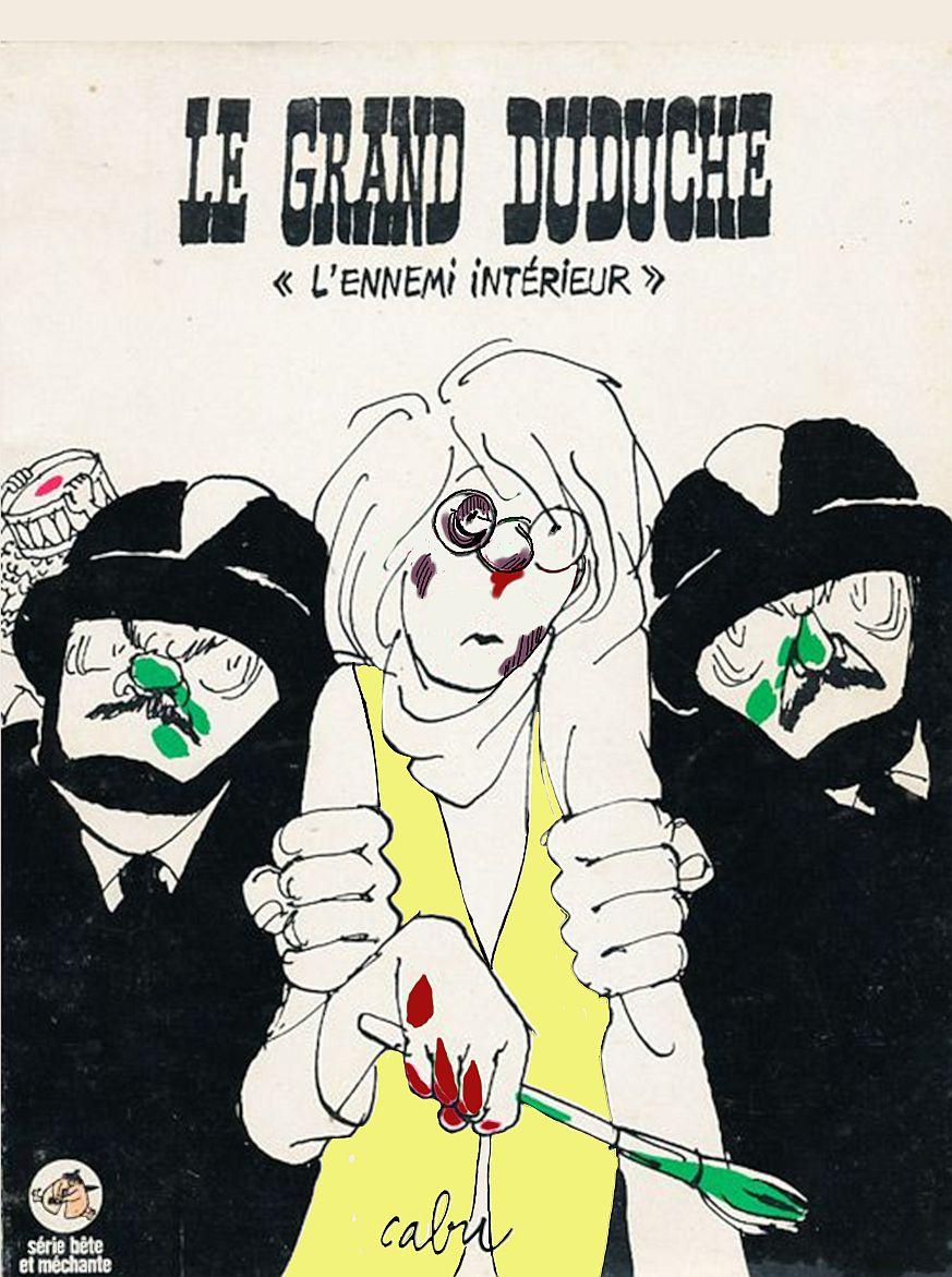 Encore quelques dessins : endosquelette, le presse, le grand Duduche 68 et le coeur tendre!