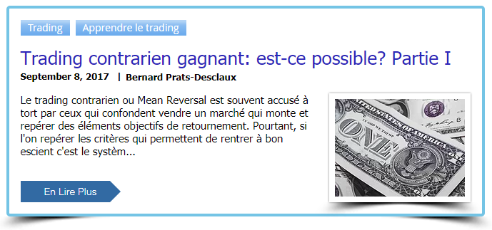 Trading contrarien gagnant