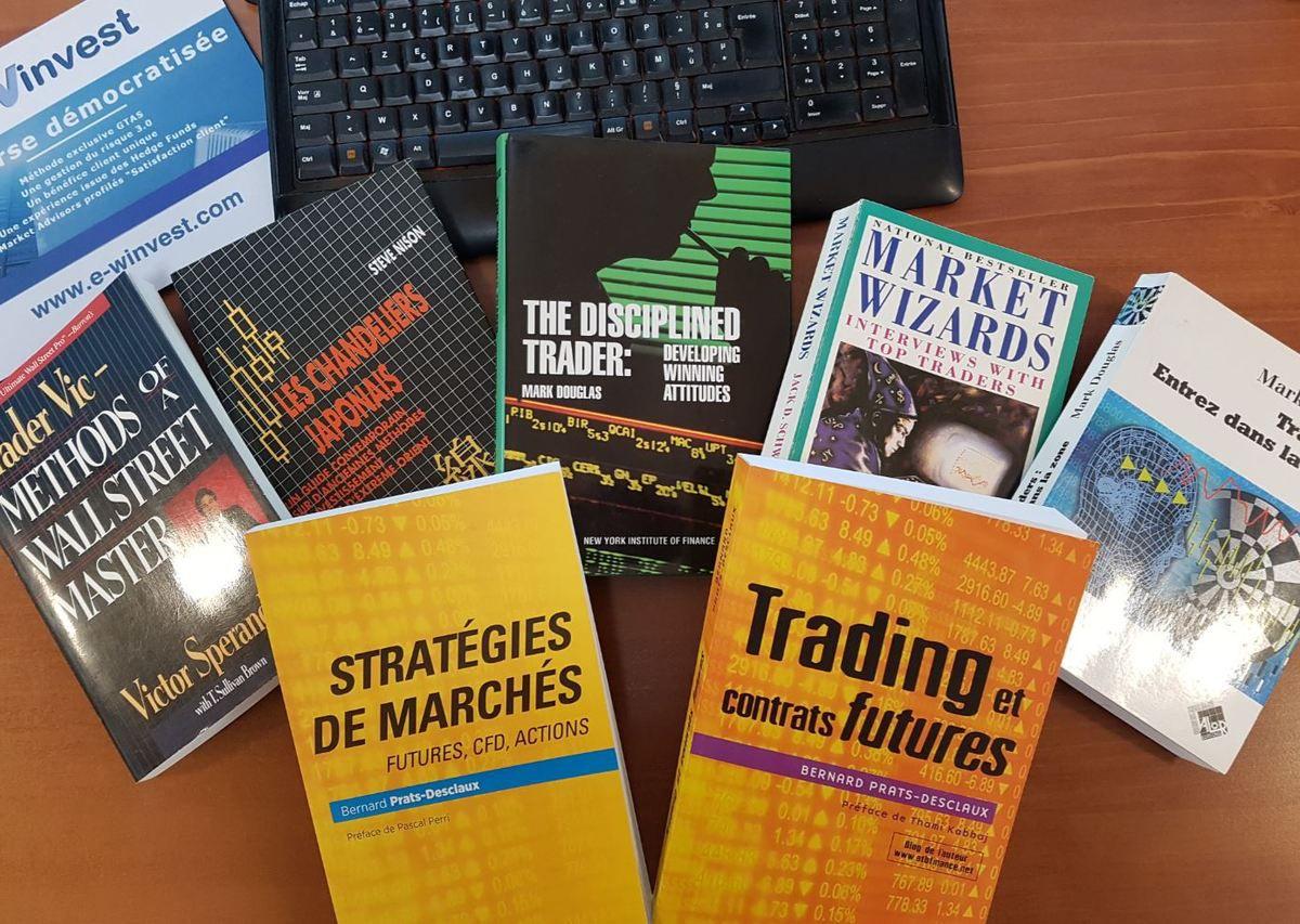 5 livres de trading indispensables
