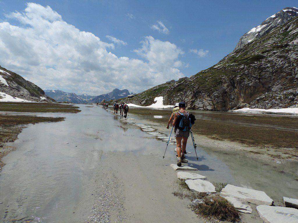 Randonnée au Lac de la Patinoire en Vanoise le 7 juillet 2016