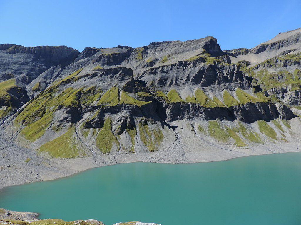 Barrages d'Emosson et traces de dinosaures avec l'ADAPAR le 5 septembre 2017