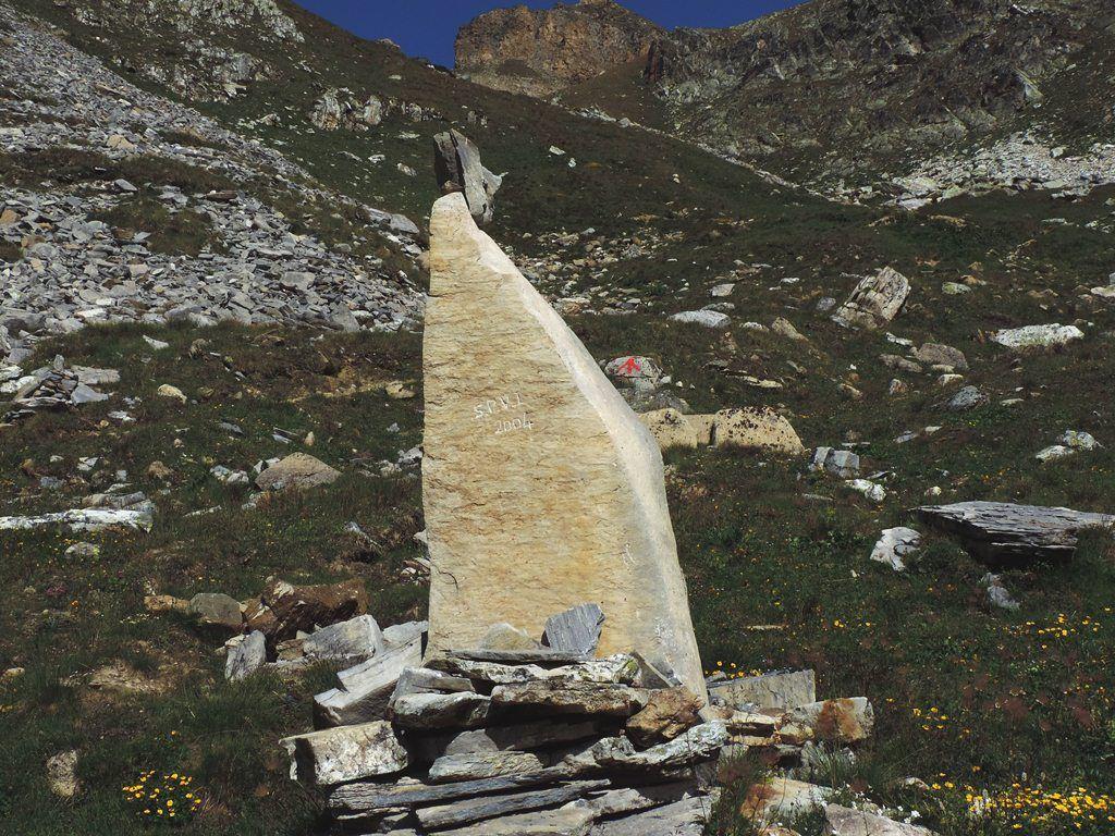 A l'approche du Passage du Picheru le sentier est jalonné de beaux cairns