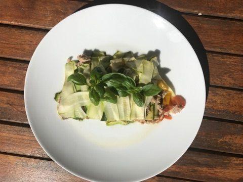Millefeuille de Légumes Aux Anchois et au thon    3💚💙💜