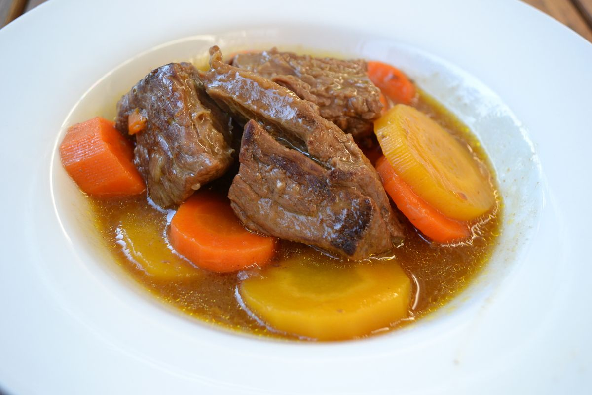 Bœuf carotte au cookeo