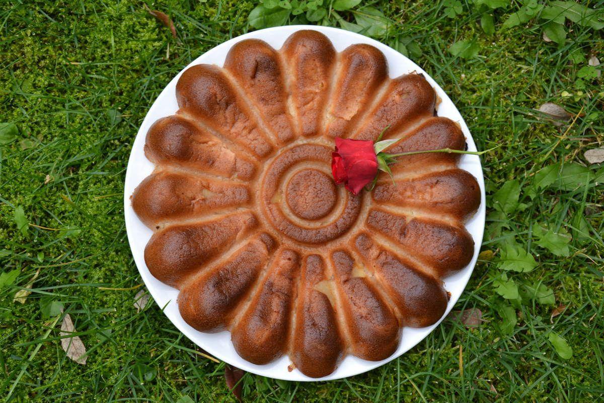 Gâteau léger normand adapté au Thermomix ( et sans Thermomix ) 4 💚 3 💙💜  !