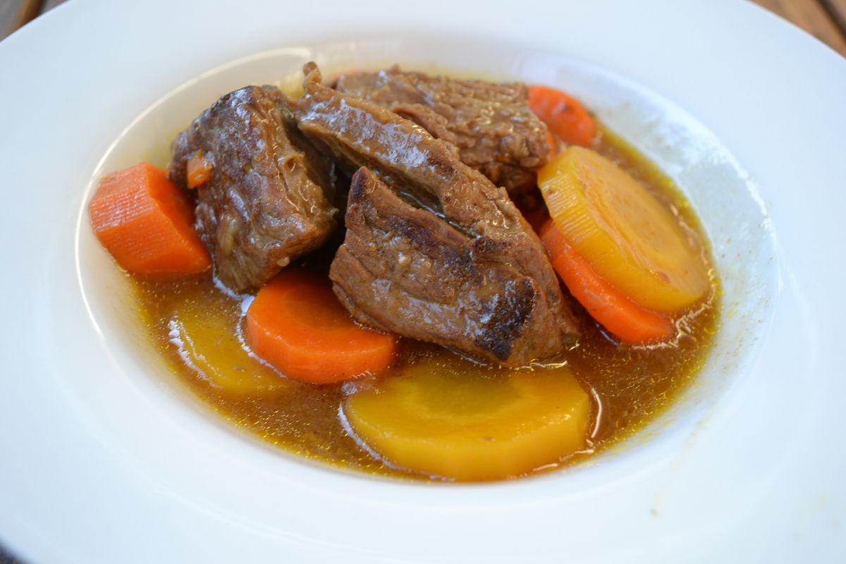Bœuf carotte au cookeo 7💚💙💜