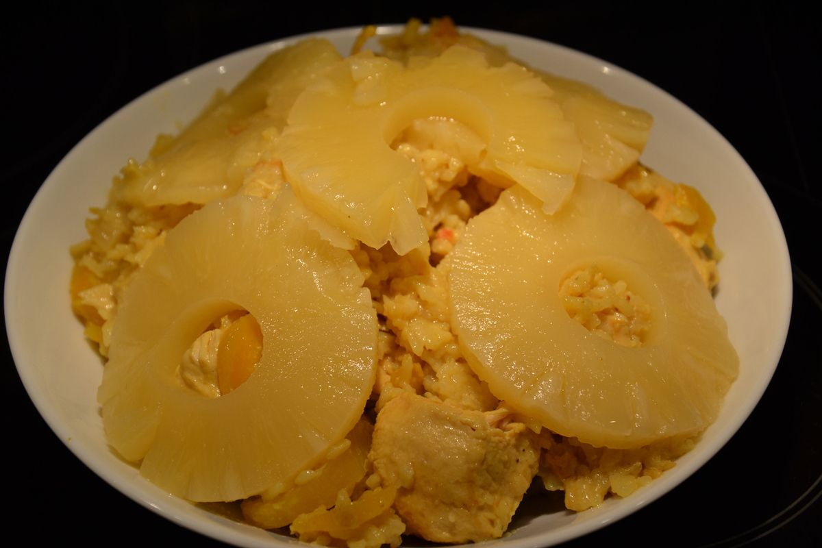 POULET ANANAS COCO AU COOKEO