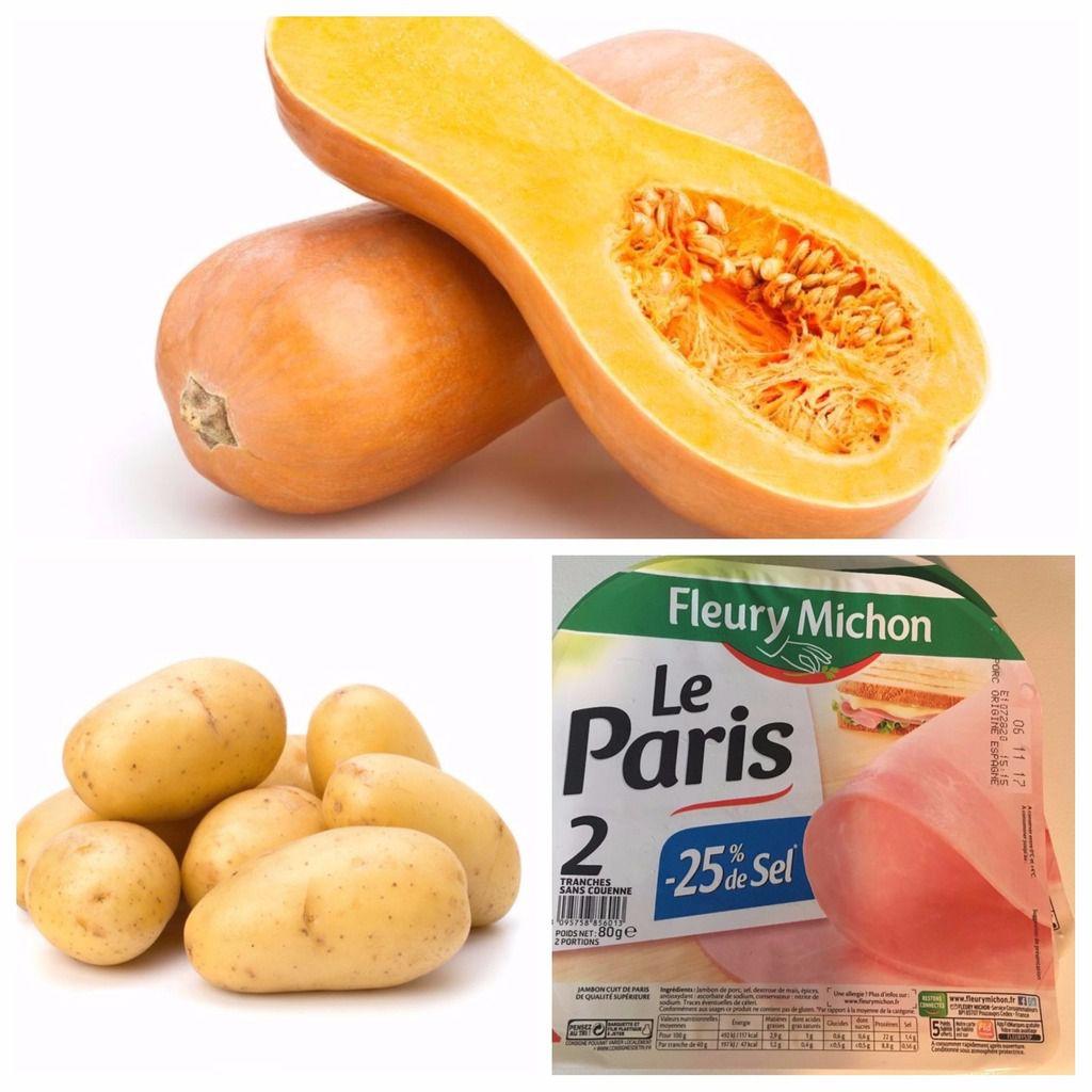 Purée Butternut / Pomme de terre