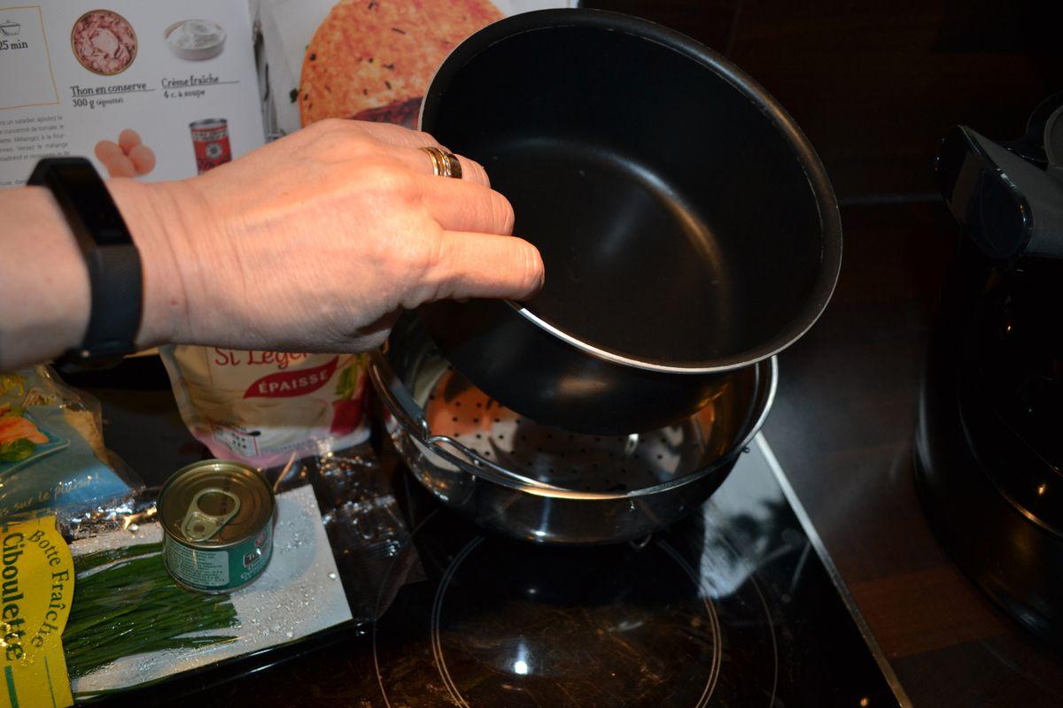Pain de thon au Cookéo 8💚5💙💜