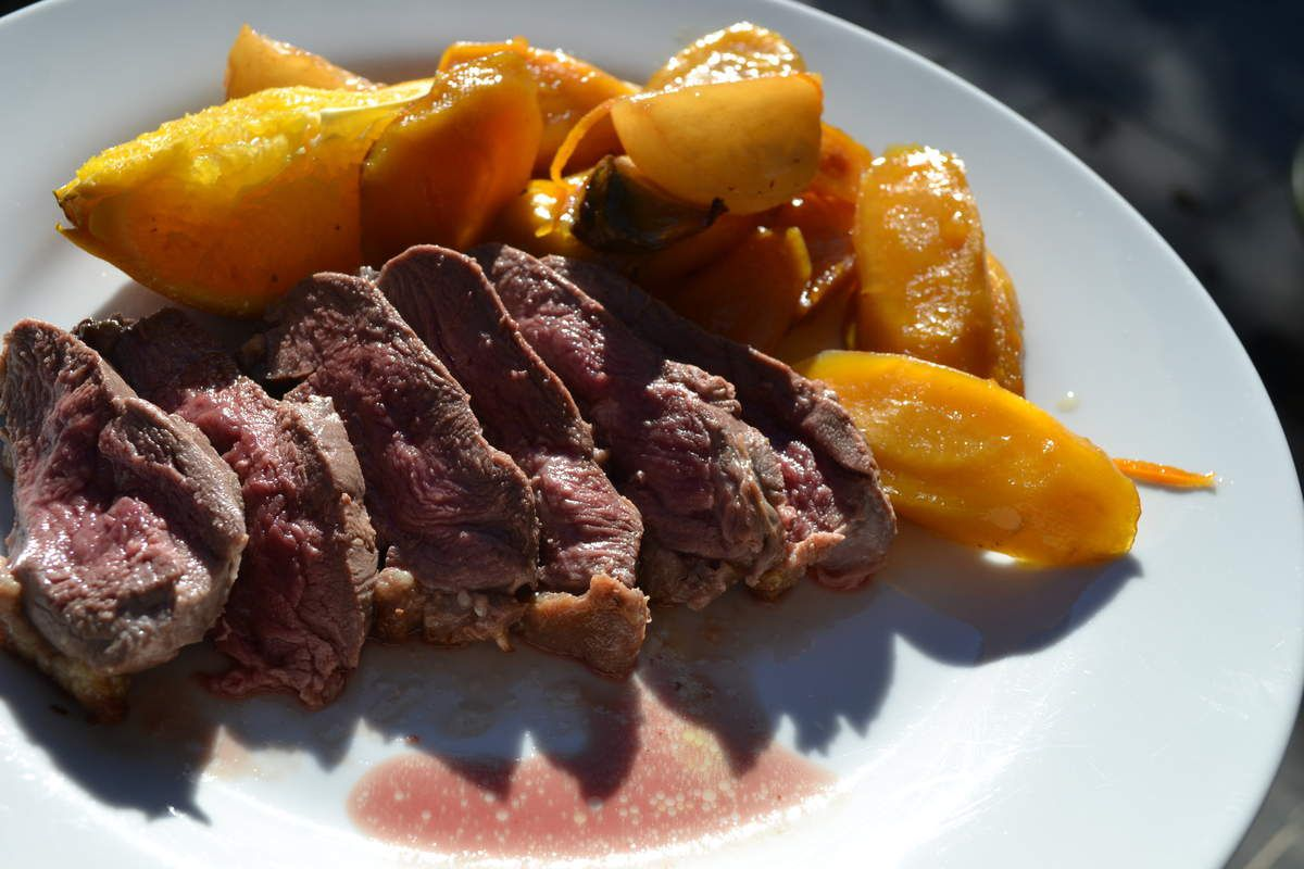 Magret de canard à l'orange au COOKEO