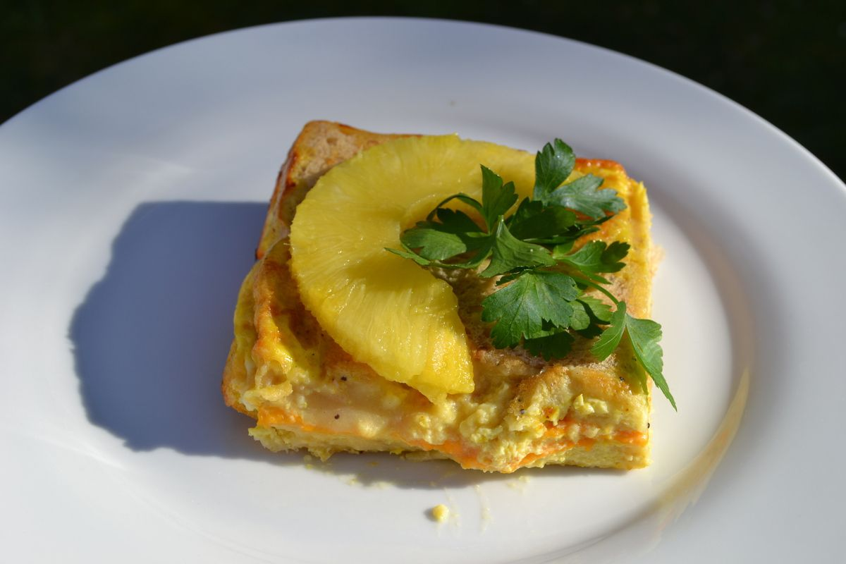 Croque tablette ananas