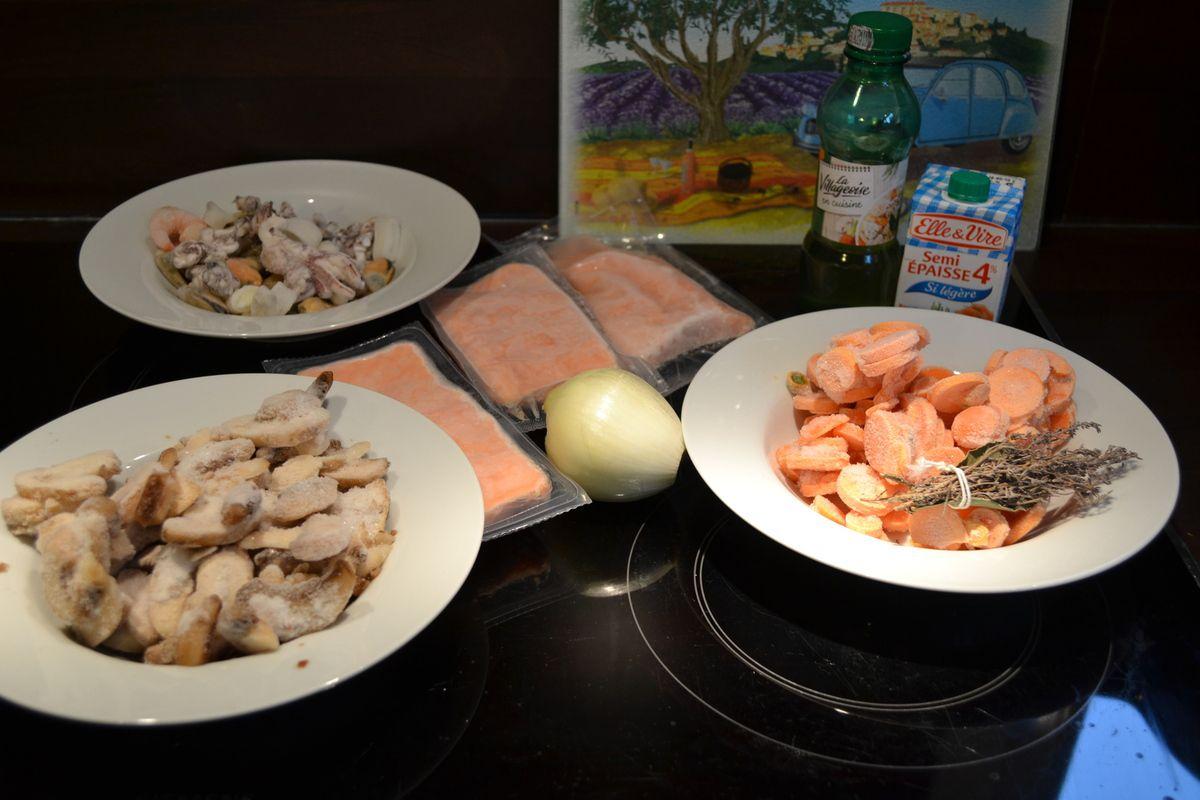 blanquette de poisson au cookéo weight watchers