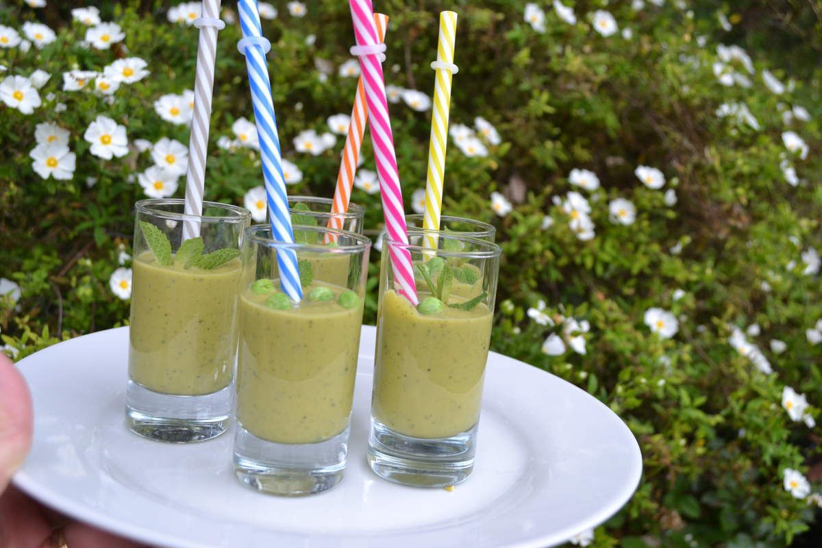 VELOUTE GLACE EXPRESS MENTHE PETITS POIS