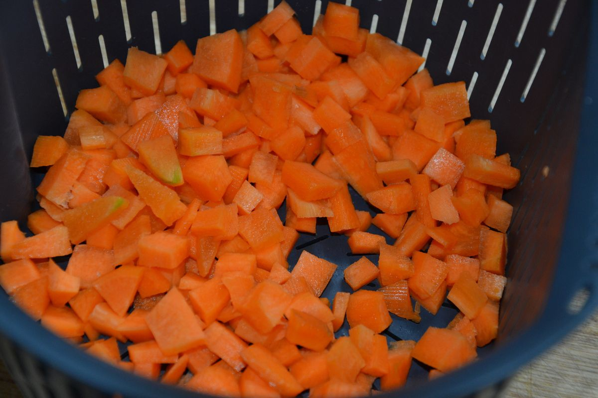 omelette roulée jambon, chorizo légumes & cancoillotte 9💚5💙💜