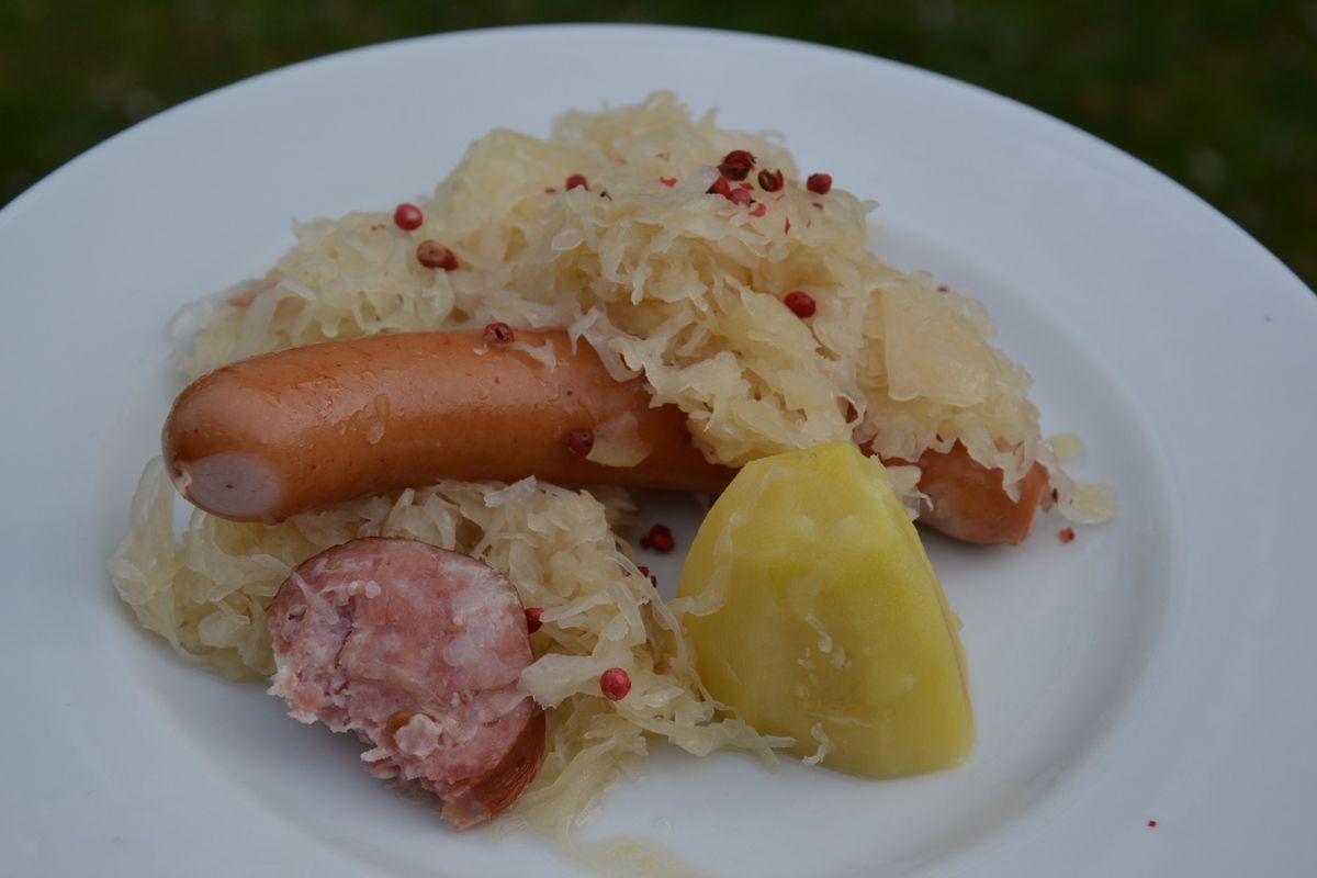 CHOUCROUTE WEIGHT WATCHERS au COOKEO