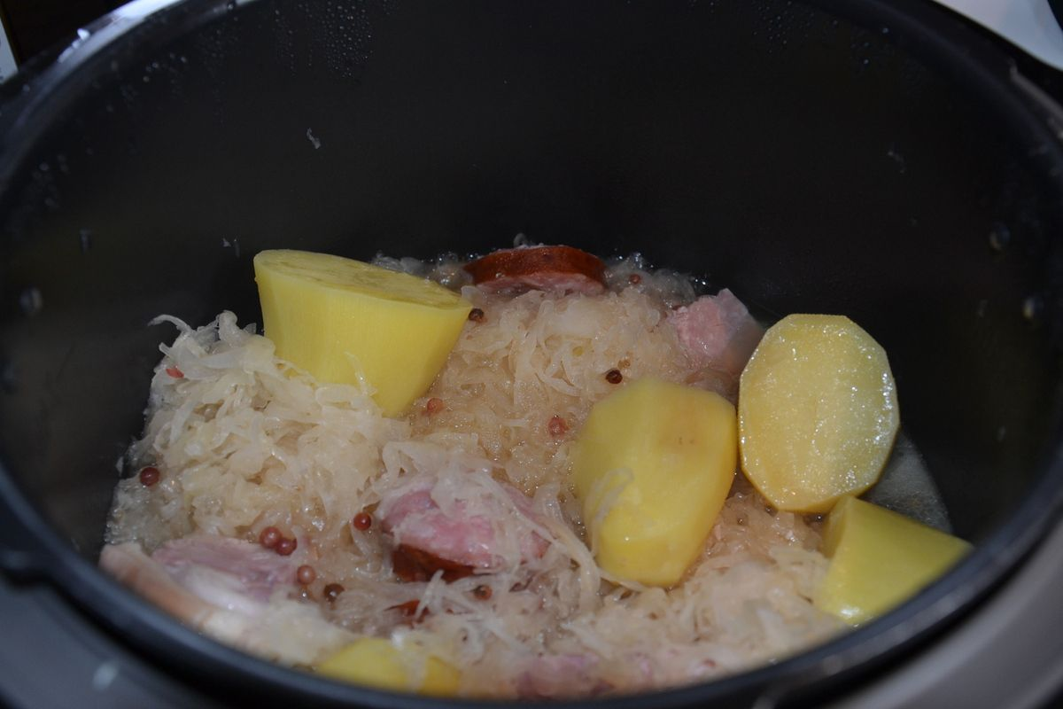 CHOUCROUTE WEIGHT WATCHERS au COOKEO 8 💚💙💜