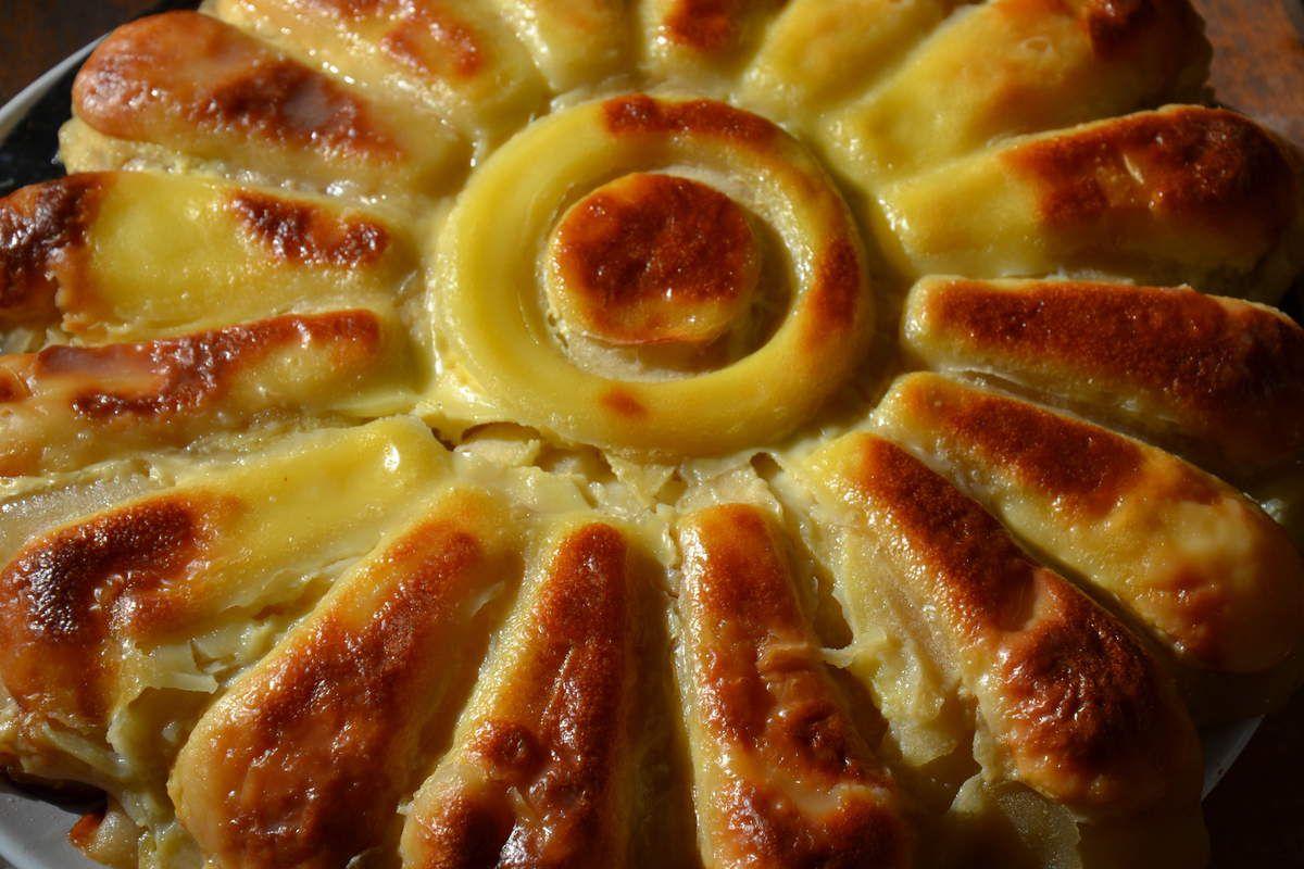 tarte aux pommes allégée Weight Watchers  4💚3💙💜