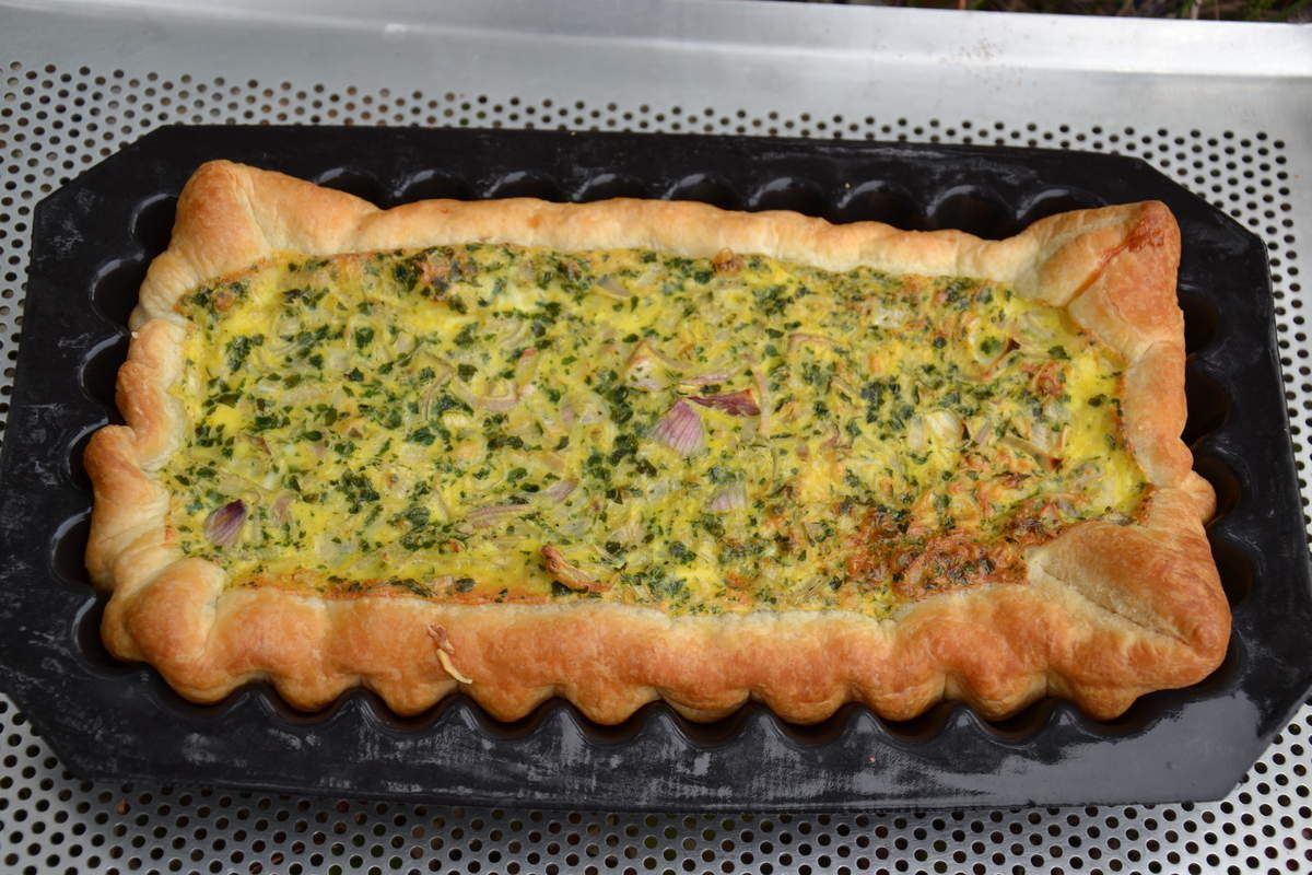 TARTE AU THON & AU CURRY