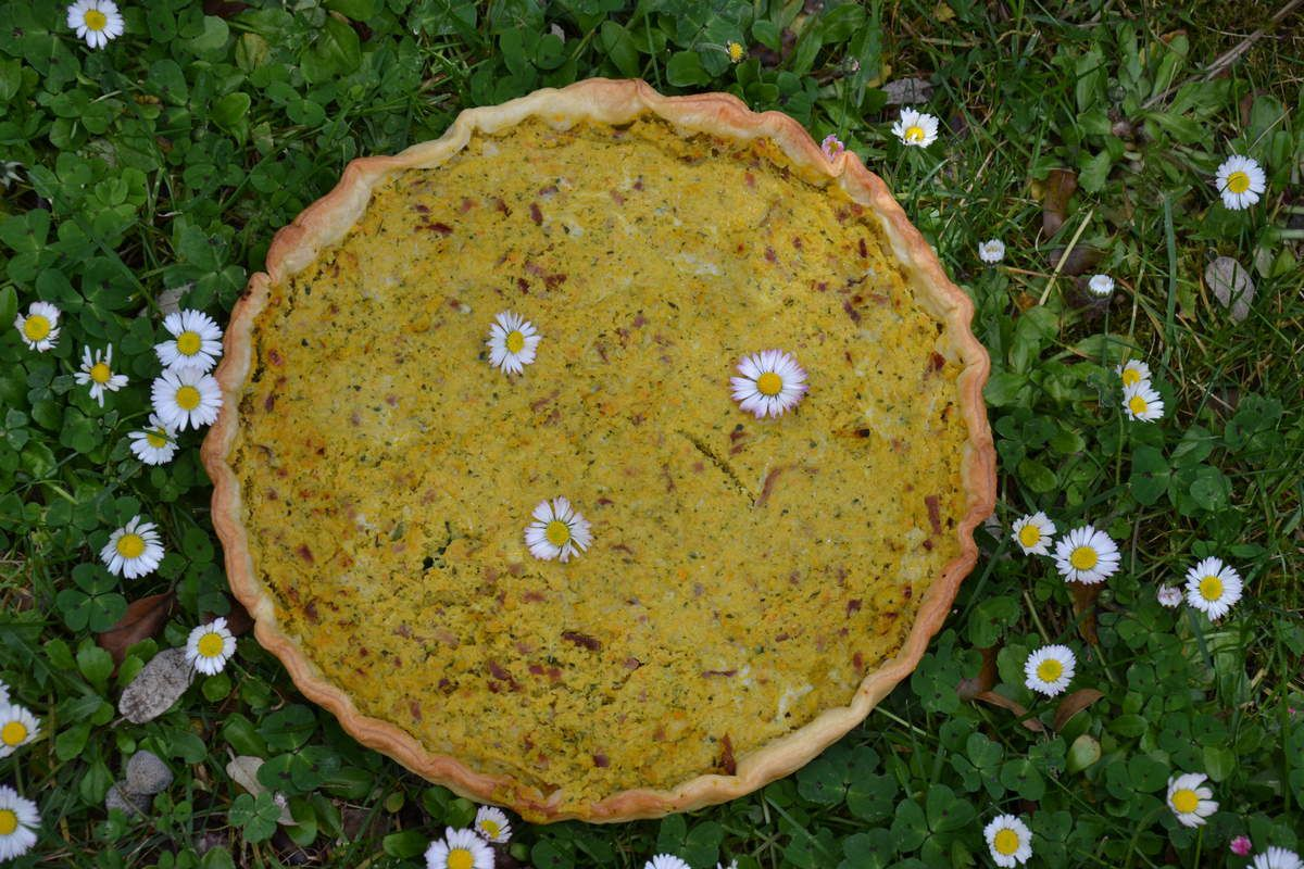 TARTE COURGETTE-CAROTTES