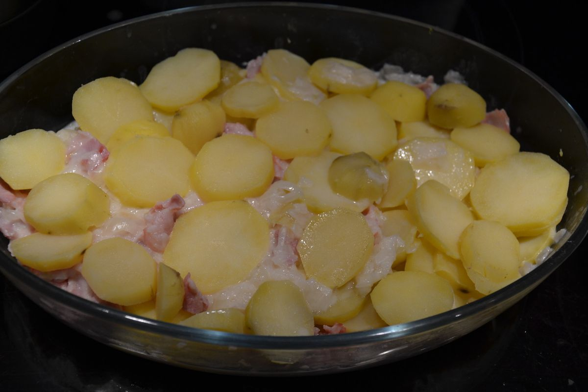 Tartiflette au maroilles Weight Watchers  10 💚💙5💜