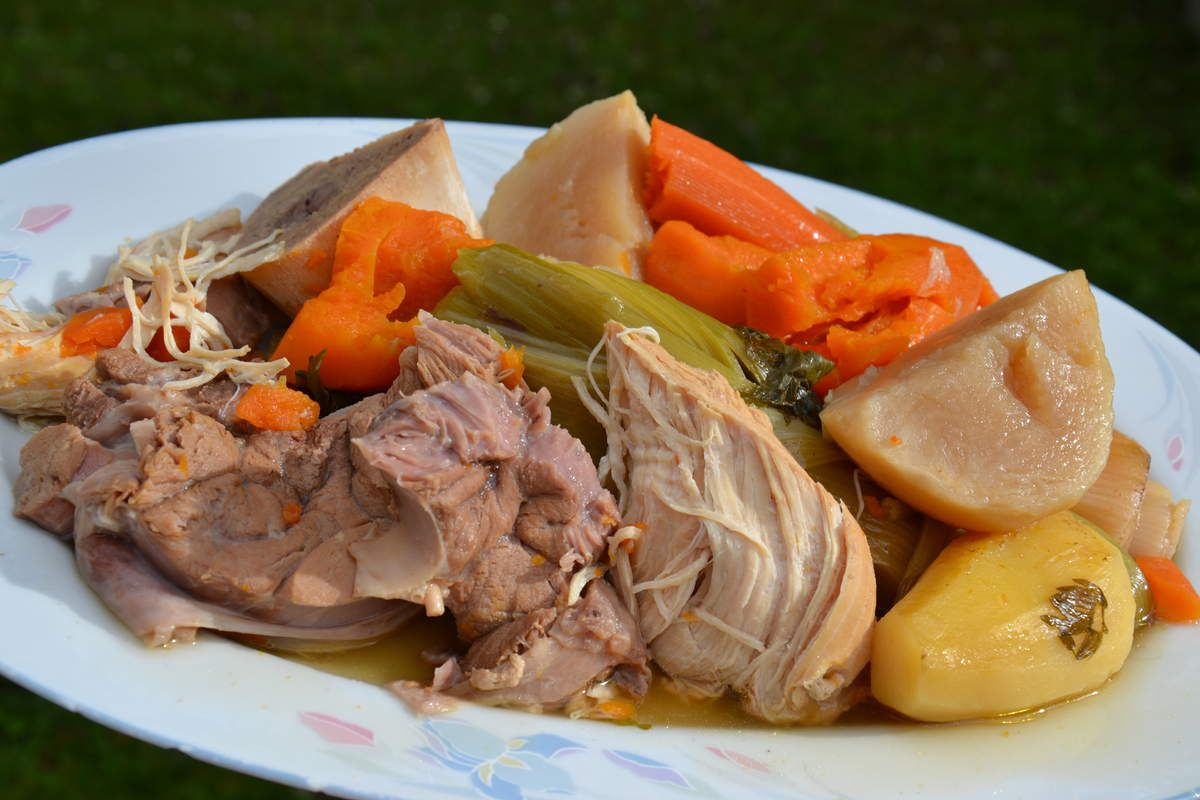 POT AU FEU DE VIANDES BLANCHES WEIGHT WATCHERS 8 💚 7  💙   2💜