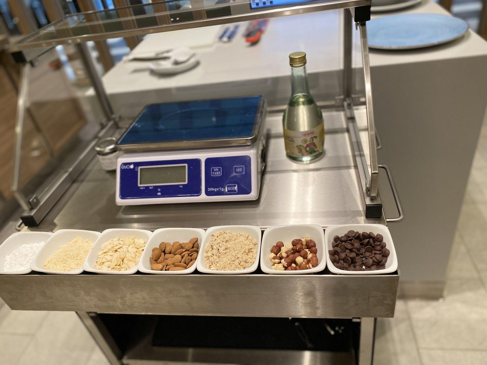 TOP CHEF ET MISTERY BOX à bord du SMERALDA ( costa croisières)