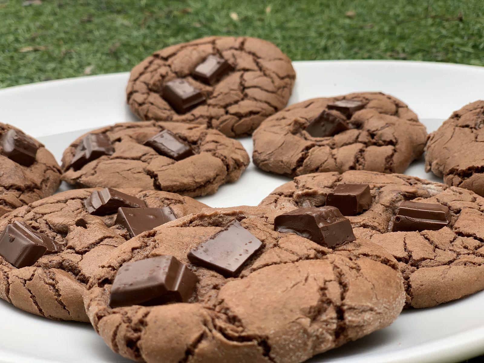 SUPER COOKIES CHOCOLAT 9 💚💙💜