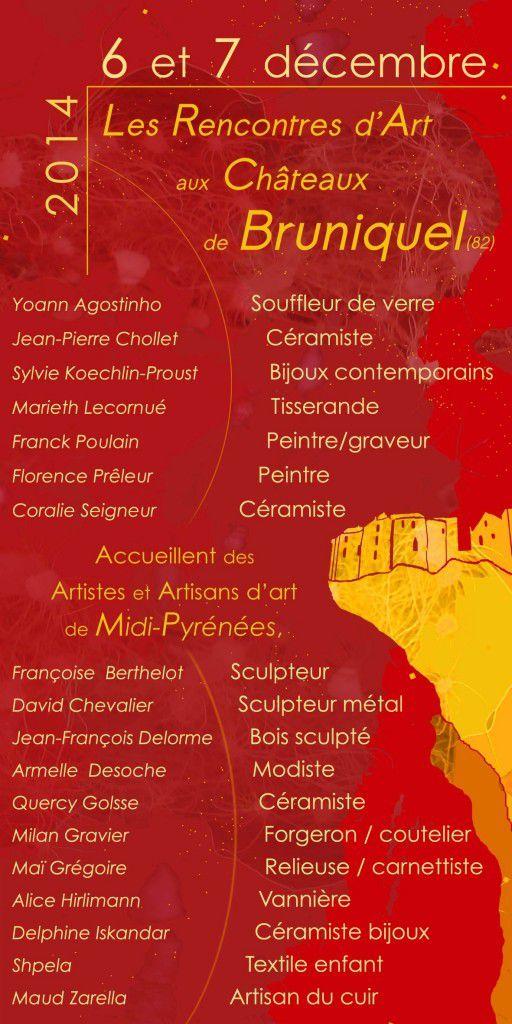 BRUNIQUEL : LES 6 ET 7 DÉCEMBRE 2014