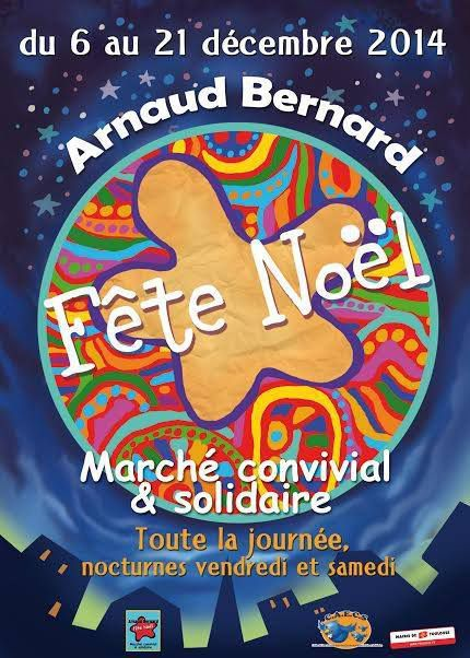 TOULOUSE : MARCHE SOLIDAIRE A ARNAUD BERNARD