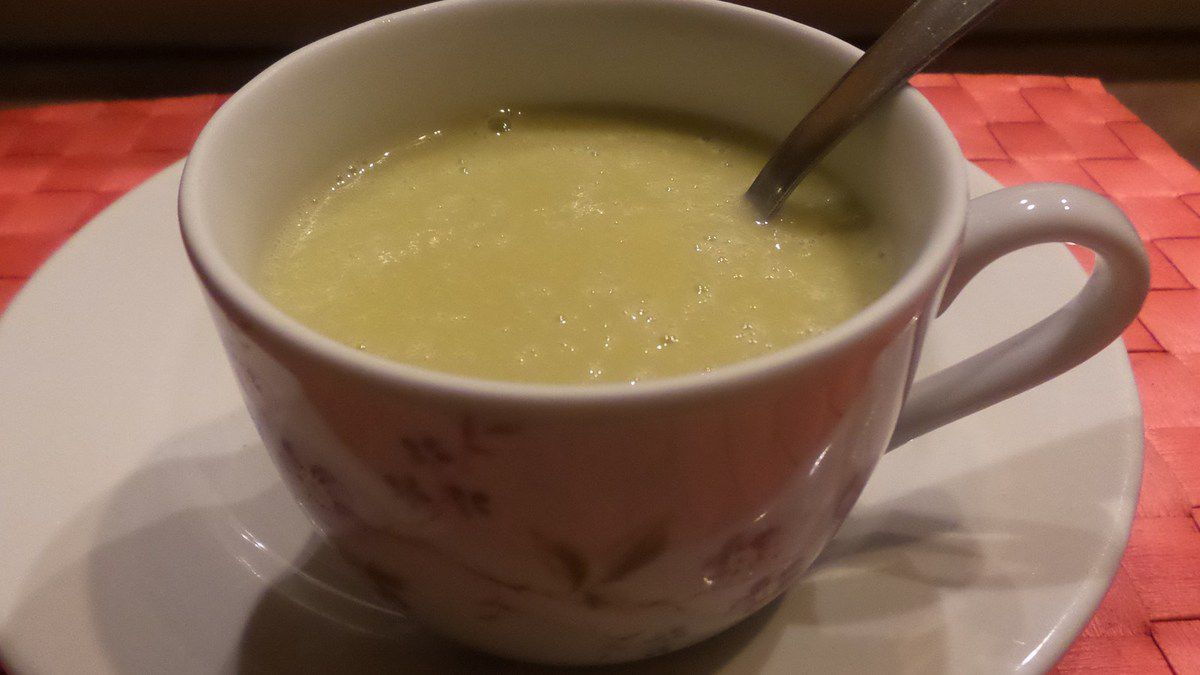 VELOUTE AUX FEVES