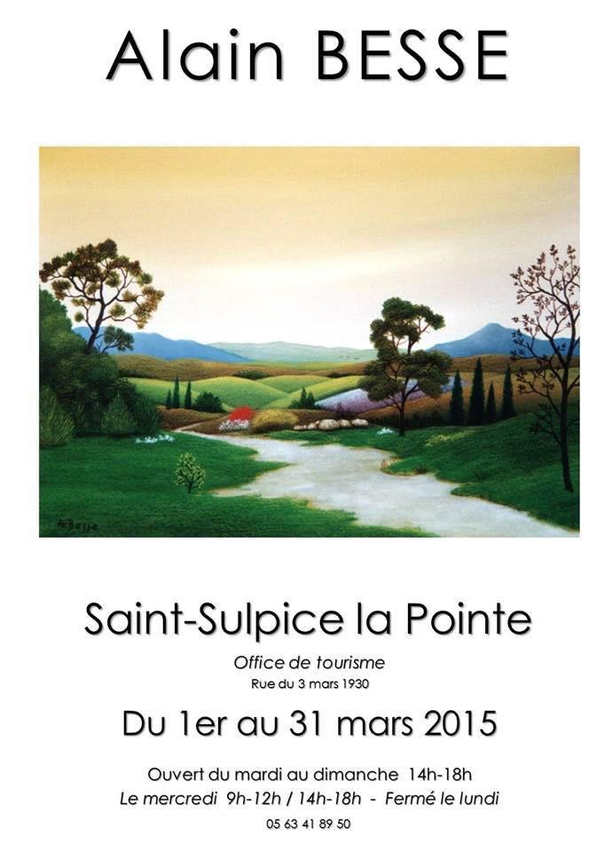 SAINT SULPICE LA POINTE : EXPOSITION ALAIN BESSE