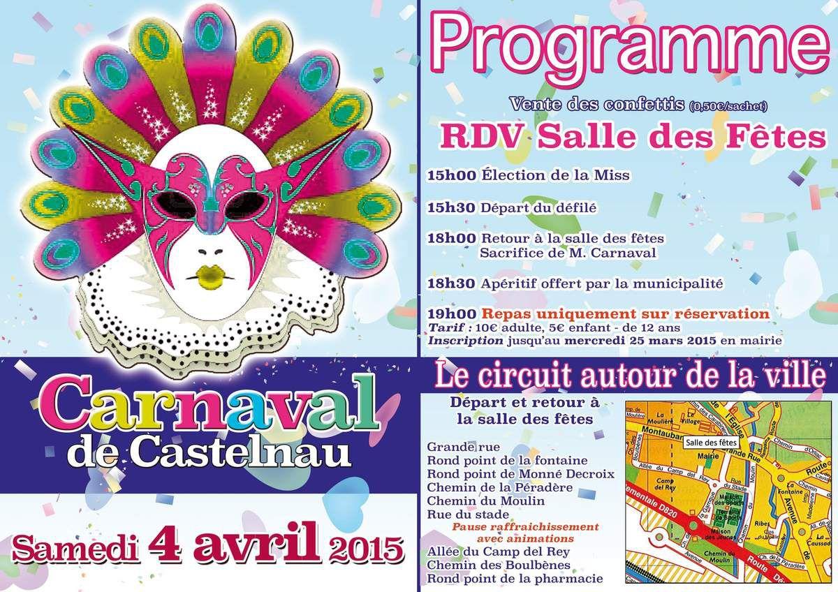 CASTELNAU D'ESTRETEFONDS : CARNAVAL