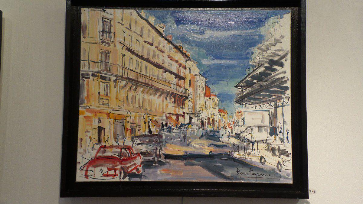 M. REMY PEYRANNE EXPOSE A LA GALERIE D'ART ROGER BETTI A TOULOUSE