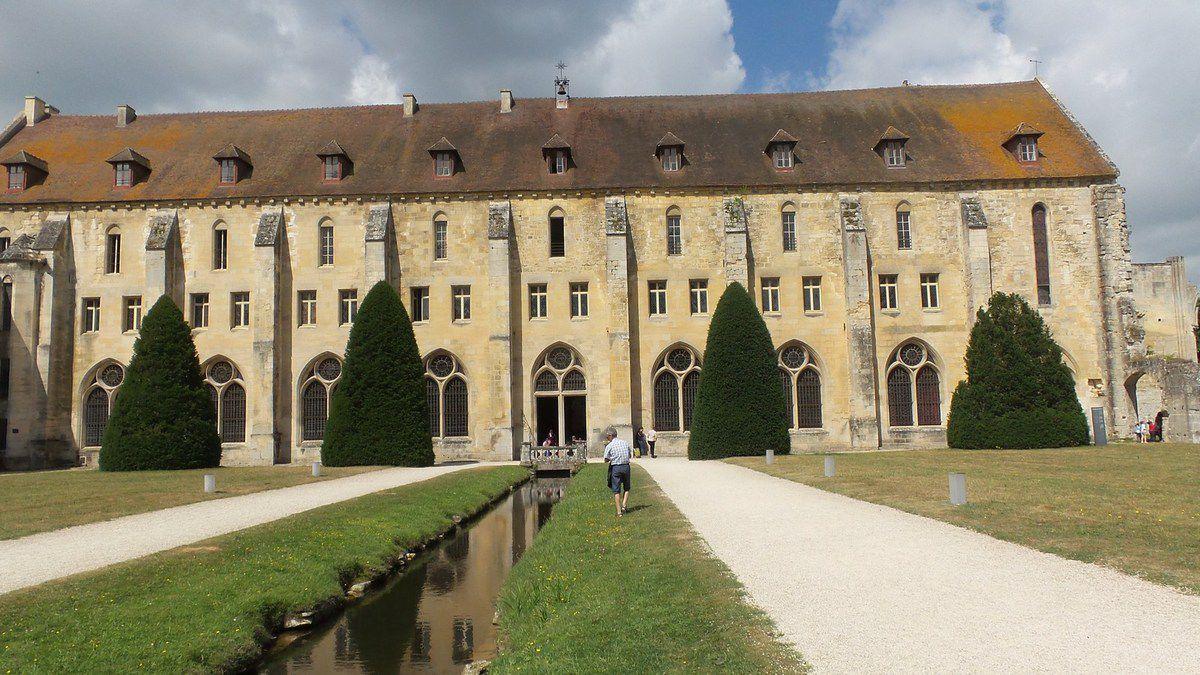 VISITE DE L'ABBAYE DE ROYAUMONT A ASNIERES-SUR-OISE (95)