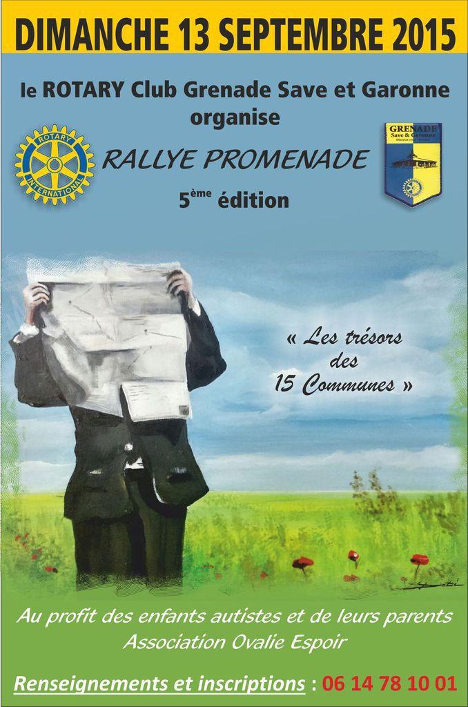GRENADE : 5ème RALLYE PROMENADE