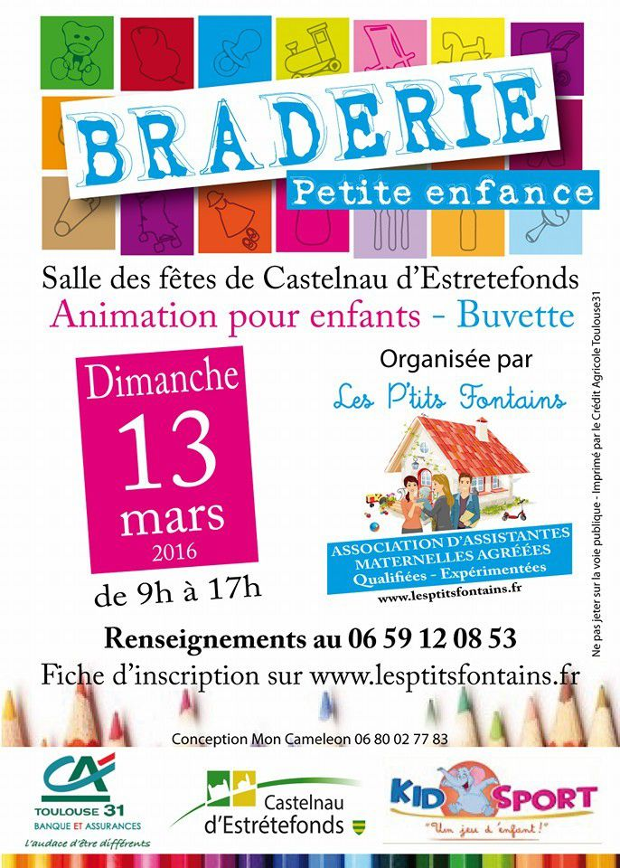 CASTELNAU D'ESTRETEFONDS - BRADERIE PETITE ENFANCE