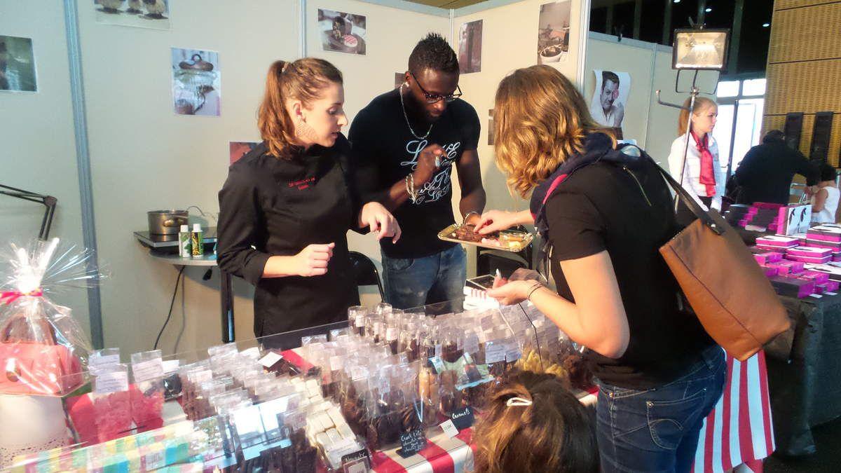 REPORTAGE EN IMAGES DE L'INAUGURATION DU SALON PATISSERIE & CHOCOLAT 2016 A MOISSAC
