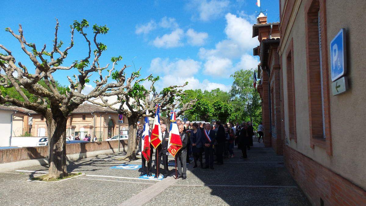 CASTELNAU D'ESTRETEFONDS - 8 MAI 1945 - 8 MAI 2017