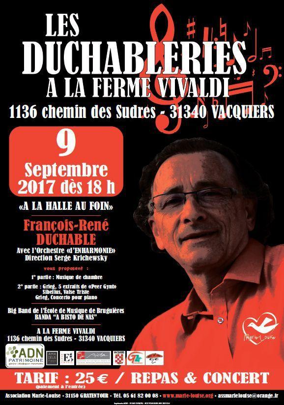 LES DUCHABLERIES - LA FERME VIVALDI A VACQUIERS