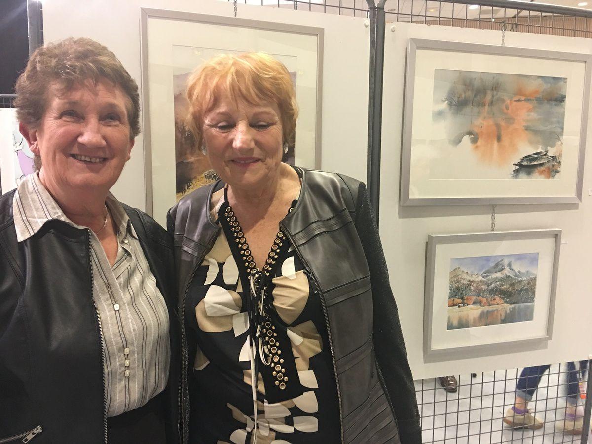 CASTELNAU D'ESTRETEFONDS - VERNISSAGE PRINTEMPS DES ARTS CE SOIR 10 MARS 2018
