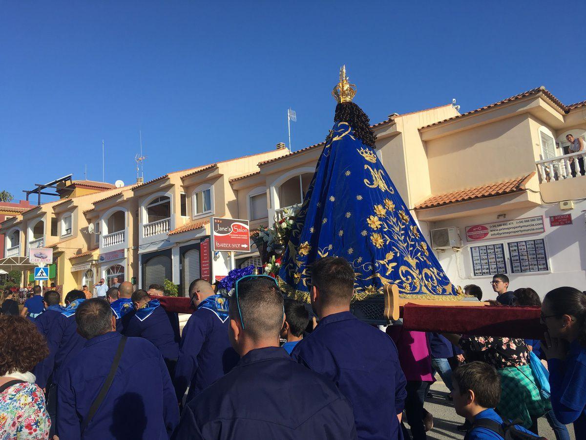 MAZARRON EN ESPAGNE - FÊTE DE LA ROMERIA NOVEMBRE 2018