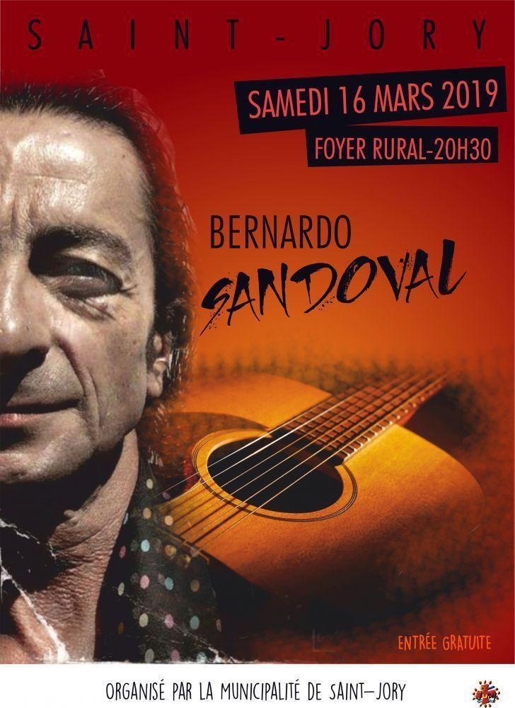 SAINT JORY - QUARTET  BERNARDO SANDOVAL