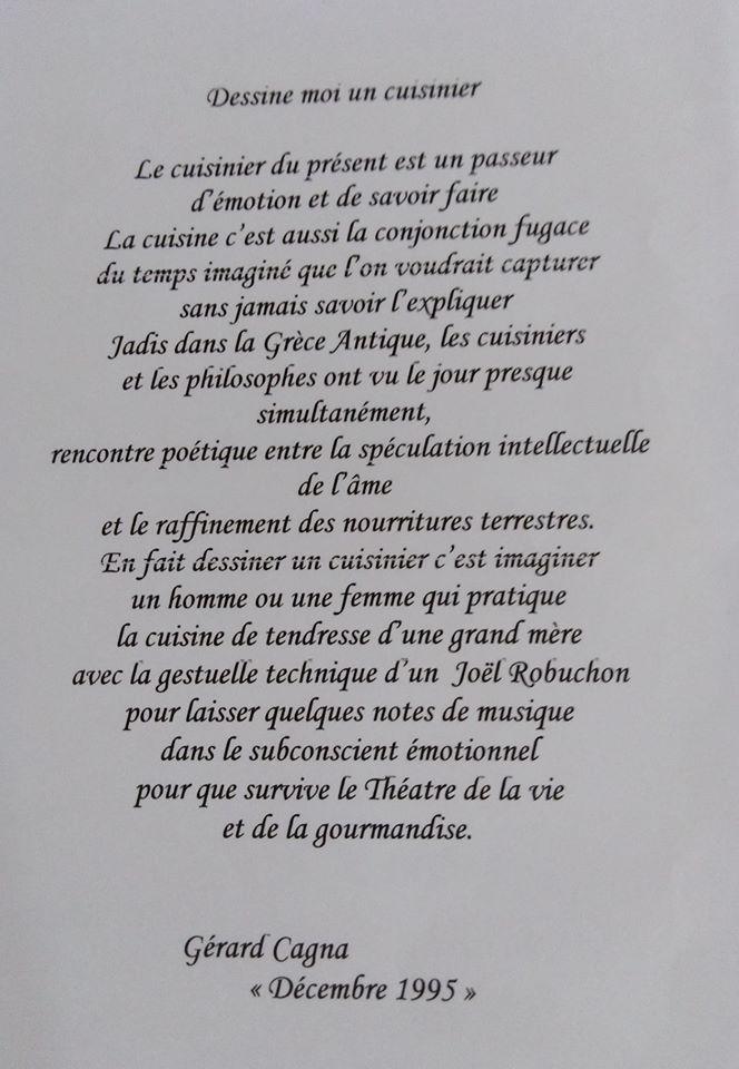 TEXTE DE GERARD CAGNA - CHEF CHARISMATIQUE