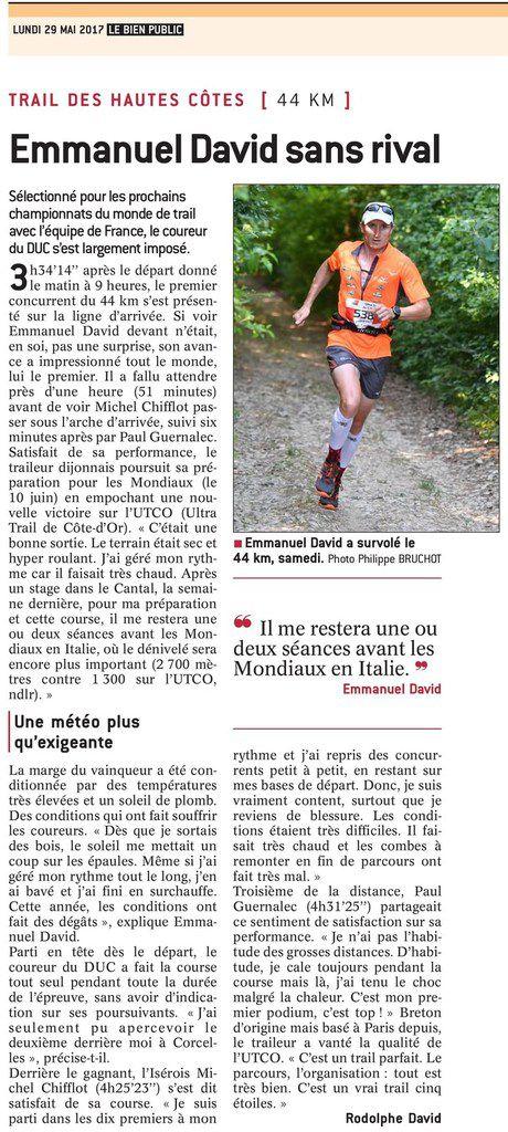 UTCO 2017 | Presse - Le Bien Public