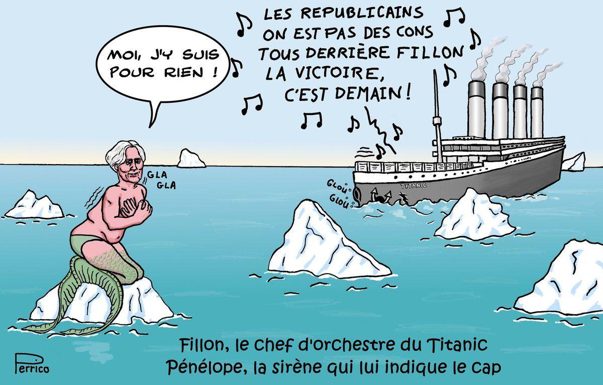 François Fillon Le Chef D Orchestre Du Titanic Le Blog De Perrico