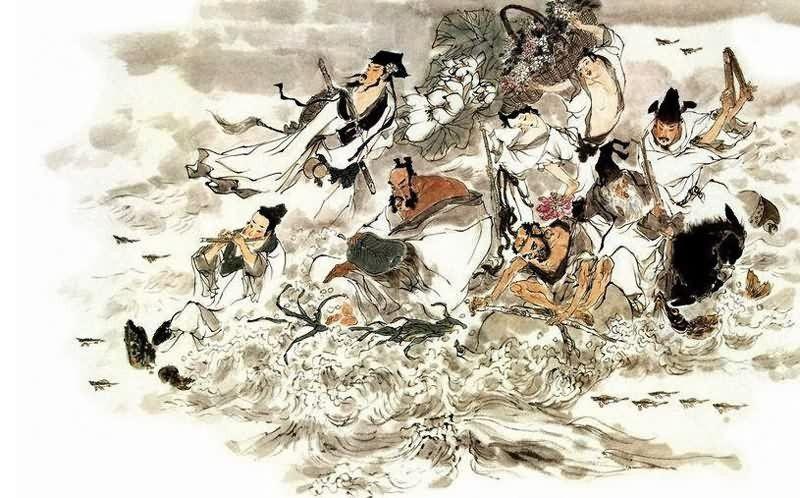 Les huit immortels (八仙), place à la légende !