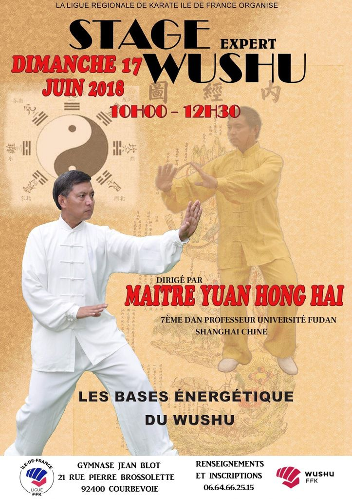 STAGE WUSHU // BASES ENERGETIQUE