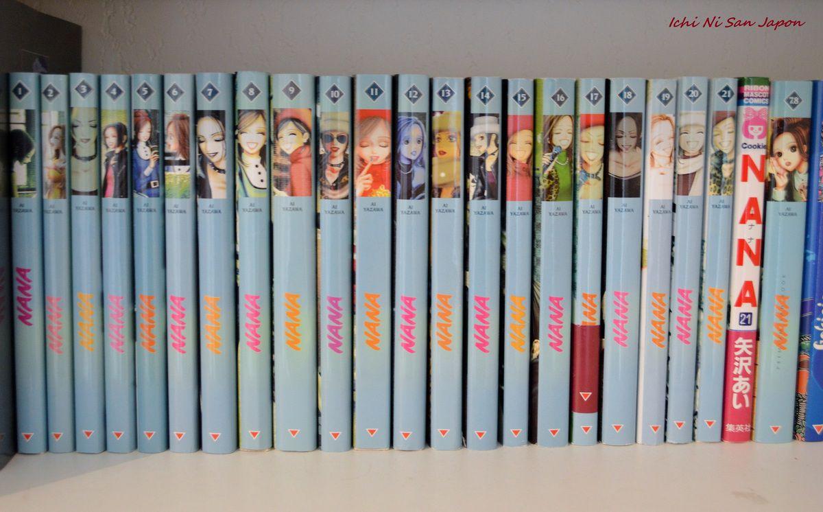 Les 21 volumes qui trônent dans ma bibliothéque