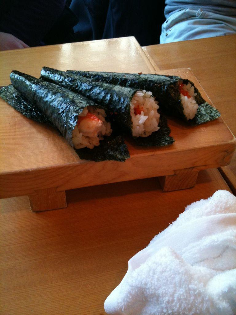 Un si beau plateau de sushis