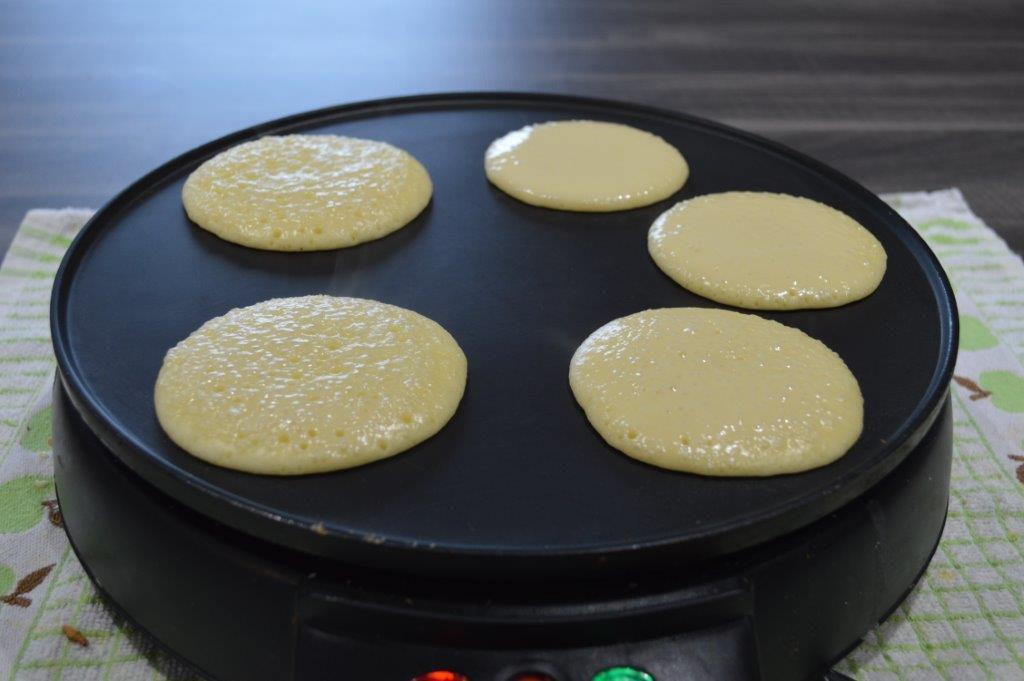 Dorayaki au Anko - pâte de haricot rouge sucrée -
